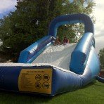A Giant Water Slide